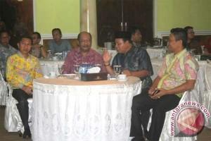Bupati Sukamara Ramah Tamah Dengan Forsesdasi Kalteng