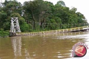 Jembatan Anjlok, Jalur Desa Muara Talang-Sampudau Putus