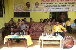 Ampera Mebas Jadi Perhitungan Golkar Sebagai Kandidat Bupati Barito Timur Periode 2018 - 2023