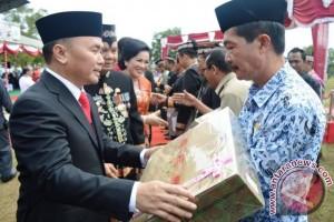 Di HUT Kota Kuala Kapuas, Gubernur Kalteng Ingatkan Masyarakat Hindari Narkoba
