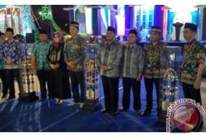 Teweh Baru Raih Juara Umum STQ Kabupaten Barito Utara