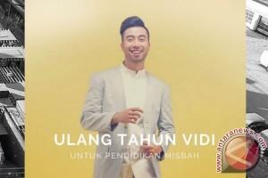 Vidi Aldiano Ulang Tahun, Ajak Penggemar Bantu Siswa SD