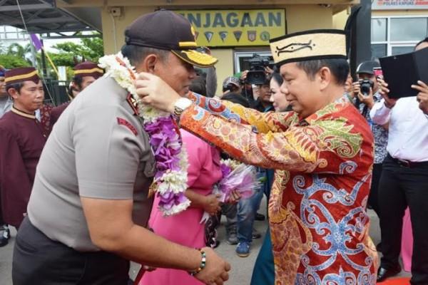 Kapolda Kalteng Kunjungi Kapuas