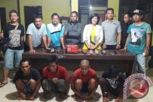 Syukur! 4 Pencuri Ditangkap Polsek Dusun Tengah