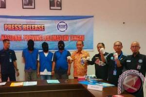 Mantap! 3 Bandar Narkoba Berhasil Dibekuk BNNP Kalteng