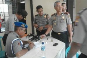 Polres Barito Utara Kembali  Periksa Senjata Api Anggotanya