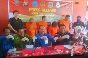 Polisi Berhasil Tangkap 4 Bandar Narkoba Lintas Provinsi