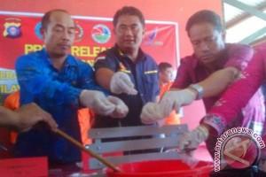Polda Kalteng Musnahkan Sabu Seberat 190 Gram