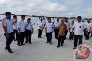 Hebat! Kabupaten Ini Miliki Pelabuhan Khusus Bulog Pertama di Kalteng