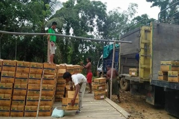 Hore! Petani Barito Utara Terima Bantuan Puluhan Bibit Jagung