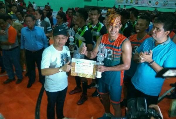DAD Juara Umum Turnamen Voli Piala Gubernur