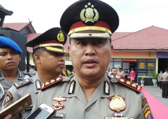Polres Kotim Sebar Anggota Tertibkan Preman Pasar