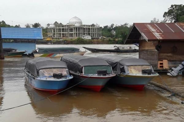 Pemkab Barut Siapkan Armada Sungai Angkutan Lebaran