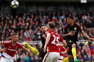 Manchester City Susah Payah Lawan Tim Papan Bawah Middlesbrough
