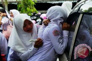 Polisi Tilang Pelajar yang Hendak Konvoi Kelulusan