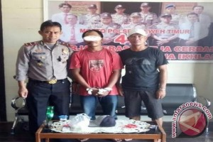 Nah! Polisi Tangkap Warga Simpan Sabu di Pondok