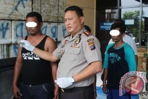 Polisi Gagalkan Pengiriman 24 Pil Inex Dalam Ban Serep