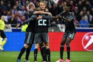 Ajax Tantang MU di Final Liga Europa Usai Singkirkan Lyon