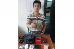 Polres Barito Utara Berhasil Tangkap Perantara Jual Beli Narkoba