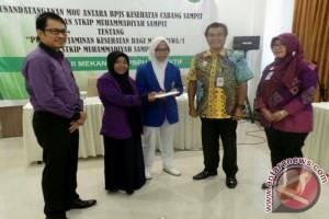 Mahasiswa STKIP Muhammadiyah Sampit Didaftarkan JKN-KIS