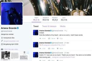Tragis! Pasca Ledakan Manchester Ariana Grande Merasa Hancur