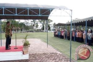 Apel Perdana Bupati-Wakil Bupati Barsel