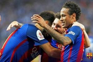 Barcelona Sukses Raih Trofi Piala Raja Tiga Kali Beruntun