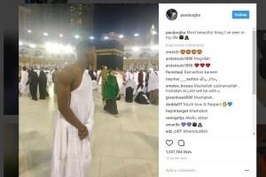 Awal Ramadhan, Paul Pogba Kunjungi Mekkah Untuk Umroh
