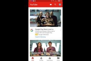 YouTube Perbarui Tampilan di Android