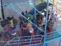 Arus mudik lebaran di Pelabuhan Sampit mulai meningkat. KM Kelimutu yang bertolak dari Pelabuhan Sampit, Kamis (8/6/2017) mengangkut 911 penumpang menuju Semarang. Foto Antara Kalteng/Norjani