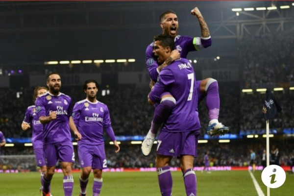 Usai Hajar Juventus, Real Madrid Juara Liga Champions 2017