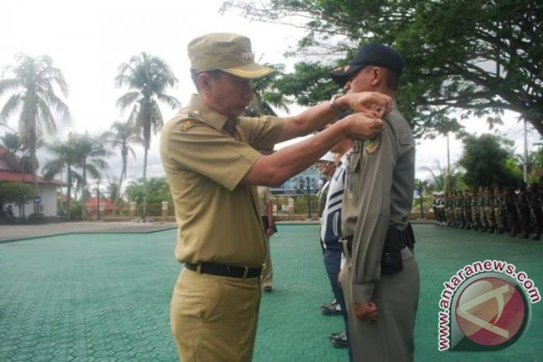 Ratusan Personel Gabungan Barut Amankan Arus Mudik