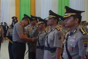 Tiga Pejabat Utama Polda Kalteng Bergeser