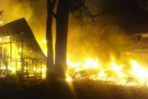 Kebakaran di Ampah Kota Akibatkan Seorang Meninggal Dunia
