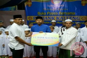 Bank Kalteng Berbagi Berkat Bersama Anak Yatim