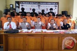 Polres Seruyan Ungkap 6 Kasus Narkoba