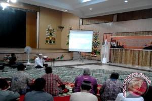 KPU Palangka Raya Sosialisasikan UU Peraturan Pencalonan Pilkada