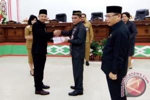 Bupati Barito Selatan Sampaikan LKPJ Anggaran 2016