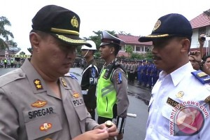 Mantap! Polres Kotim Turunkan Seluruh Personel Amankan Arus Mudik