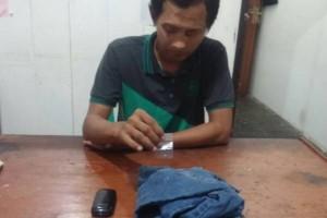 Pengedar Sabu Ditangkap Polisi Barut, Diduga Sedang Pesta Narkoba