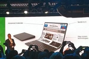 Keren! Konsep Baru Lenovo Laptop Fleksibel