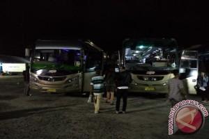 Sopir Bus di Sampit Jalani Pemeriksaan Urine