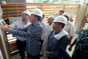 Bupati Barito Utara Luncurkan Listrik Desa Sikui