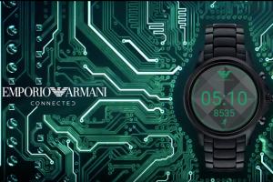Ini Smartwatch Armani Manfaatkan Android Wear 2.0