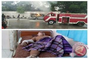 Tragis! 1 Korban Saat Mobil Terbakar di SPBU Barito Selatan