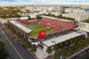 Wow! Stadion Rp6 triliun DC United Selesai 2018