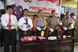Ini Kasus yang Diungkap Polres Kapuas Selama Bulan Ramadhan 2017