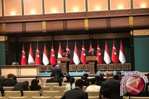 Jokowi-Erdogan Sepakat bertukar Informasi Intelijen Atasi Terorisme