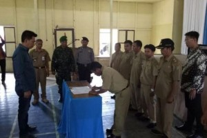 Barito Utara Gandeng Pihak Swasta Bangun Jalan Desa