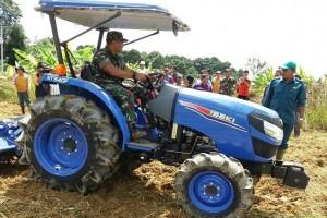 Kerja Sama Petani-TNI Dongkrak Pertanian Kotawaringin Timur